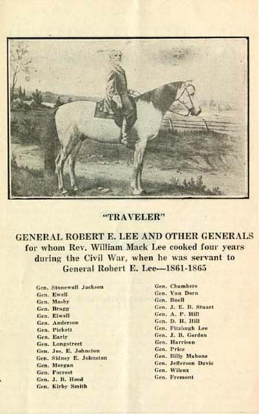 Robert E. Lee on Traveler